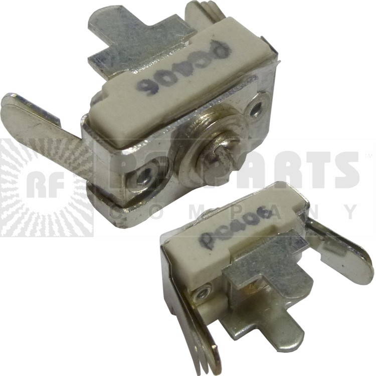 406-PC Trimmer, compression mica, 25-115 pf. pc mount