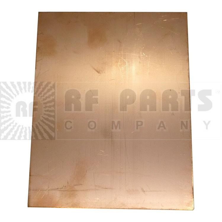 "PC10X7.25  Copper Board, Double Sided 10"" x 7.25"""