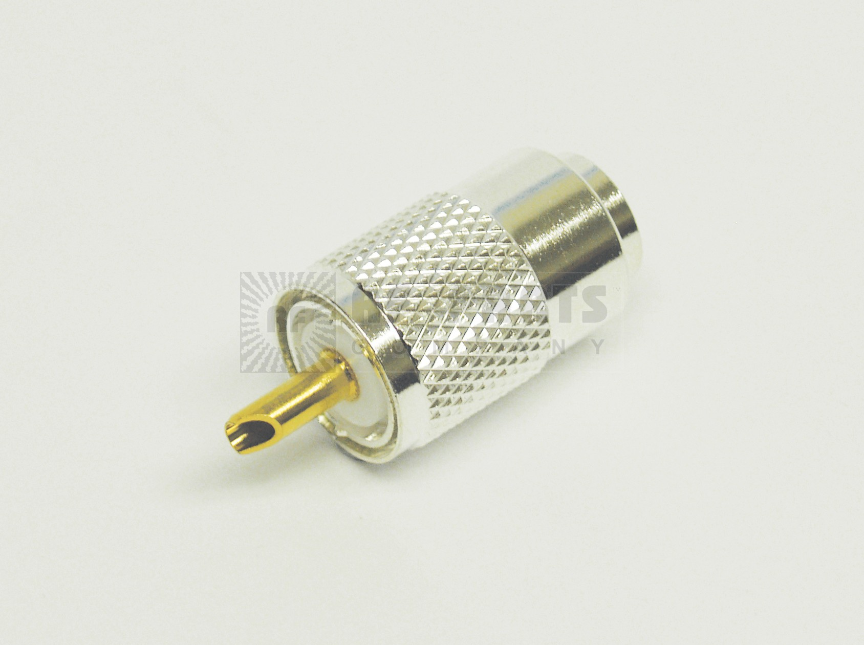 1-PL259A UHF Male Solder Type Connector, Silver/Teflon (Best Grade), LMR400/9913