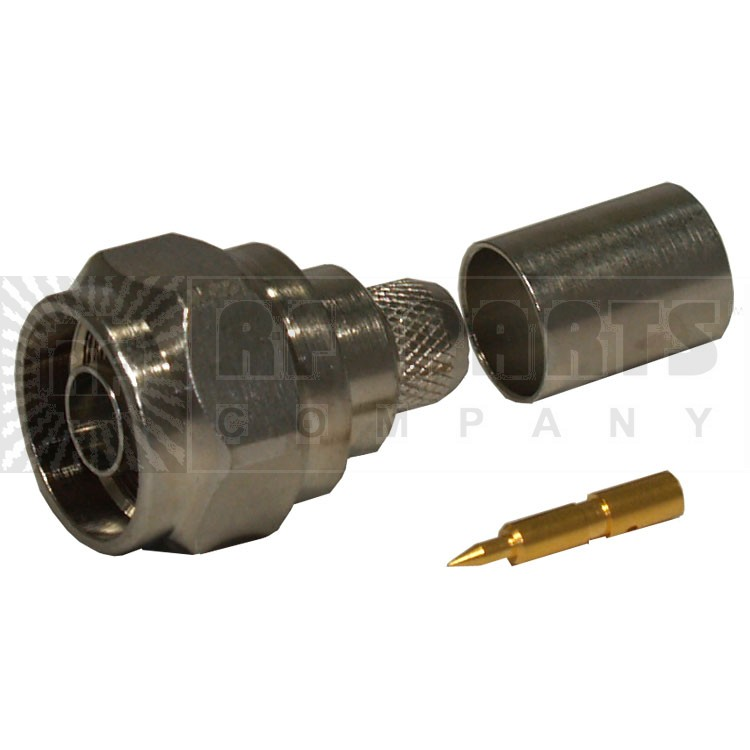 R161075040 Connector, type-n male crimp, Hex head for lmr400 radiall, RAD