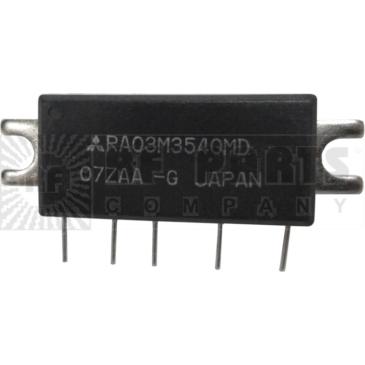RA03M3540MD RF Module, 350-400 MHz, 3 Watt, 7.2v