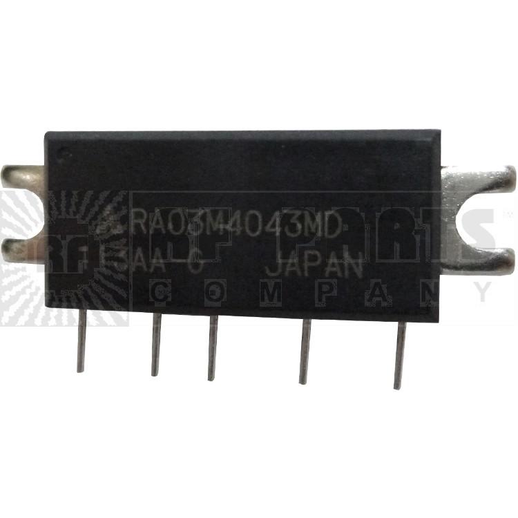 RA03M4043MD RF Module, 400-430 MHz, 3 Watt, 7.2v