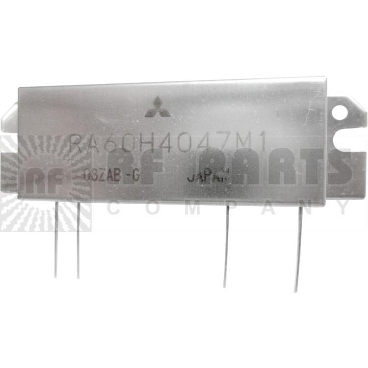 RA60H4047M1 RF Module, 400-470 MHz, 60 Watt, 12.5v, Metal Case
