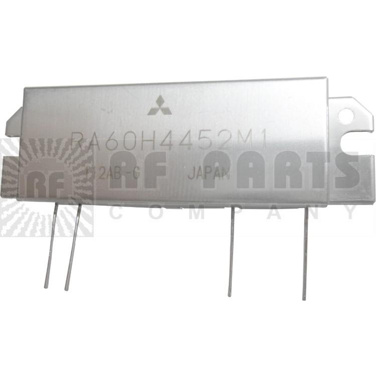 RA60H4452M1 RF Module, 440-520 MHz, 60 Watt, 12.5v, Metal Case