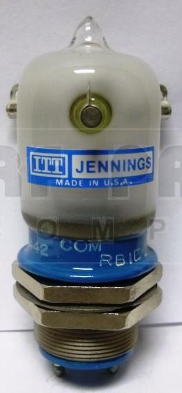 RB1E  Vacuum Relay, SPDT, 26.5vdc, Jennings (NOS)