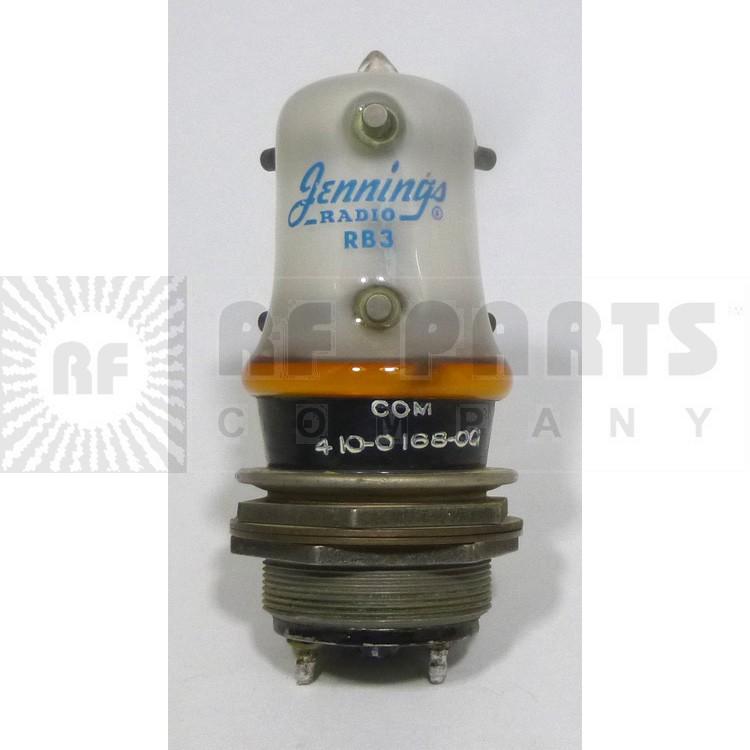 RB3-P  Vacuum Relay, 12kv, 26.5vdc, Jennings. (Clean Pullout)