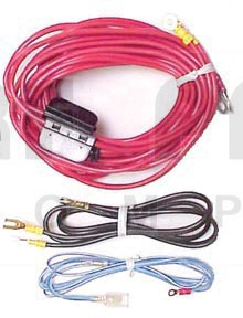 RD223 Amplifier Wire Kit, 10awg w/2 30 amp Fused Links