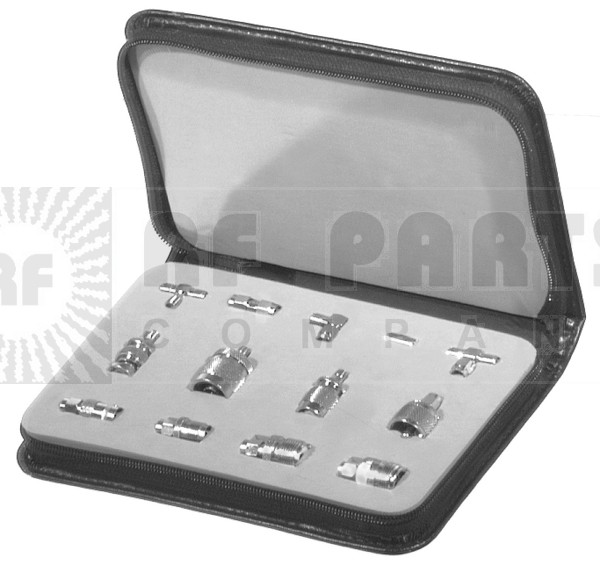 RFA4027 Technicians SMA Adapter kit, 13 pcs in carrying case,