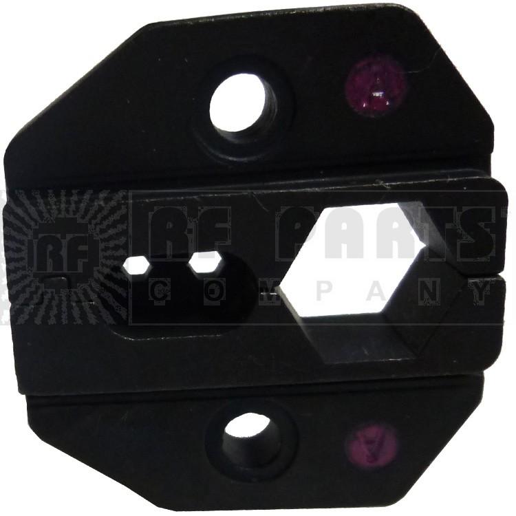 RFA4005-10 Die Set for RG8/RG11/RG213 Cables, Use with RFA4005-20 Handle, RFI