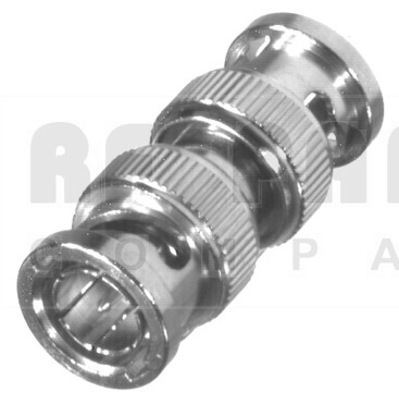 RFB1733 BNC In Series Adapter, Male to Male, Straight, 75ohm, RFI