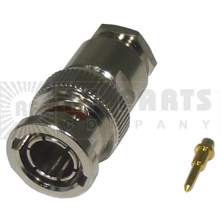 RFB1101-1X Connector, BNC Male Clamp