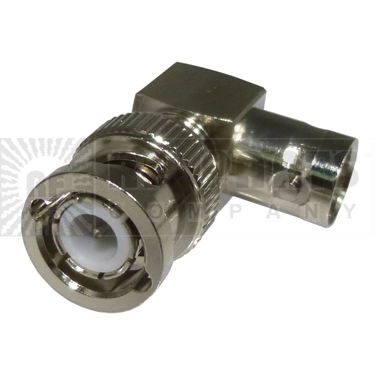 RFB1132  BNC In-Series Adapter, Right Angle Male to female, RF Industries