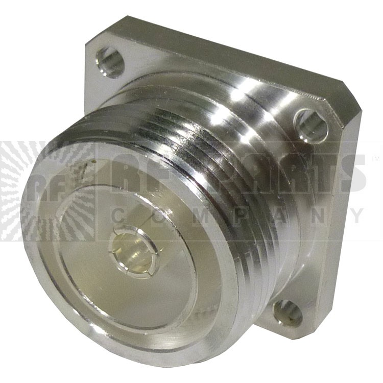 RFD1640-2 Connector, 7/16 DIN Female 4 Hole Flange, RFI