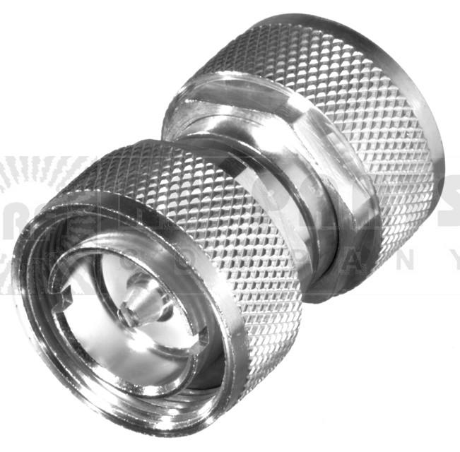 RFD1650-2 7/16 DIN IN Series Adapter, Male to Male Barrel, RFI