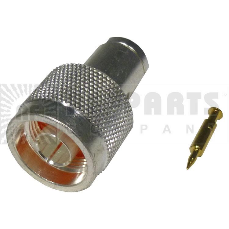 RFN1000-N Connector, Type-N Male Clamp, For rg58/u, RFI