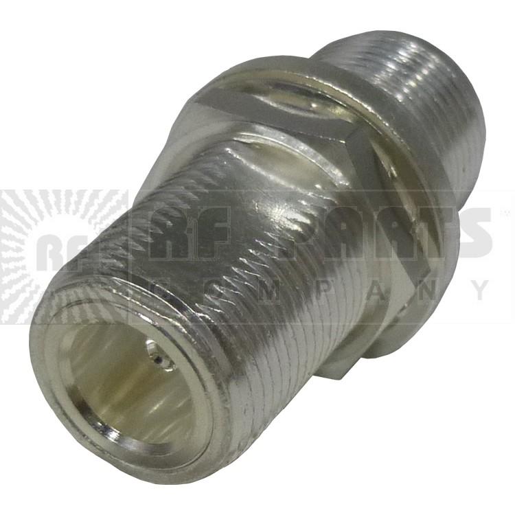 RFN1023  Type-N IN Series Adapter, Female to Female bulkhead, RFI