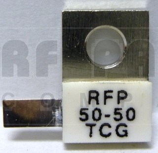 RFP50-50TCG  Surface mount termination, 50 Watt, 50 ohm, ANAREN