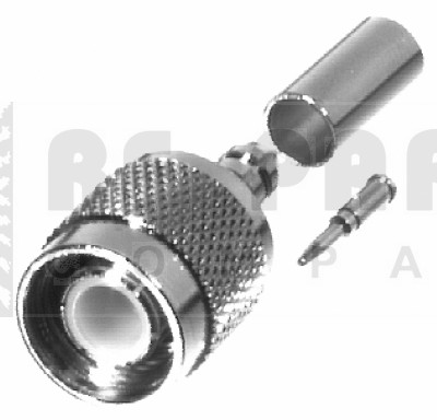 RFT1202-3 TNC Male Crimp Connector, RFI