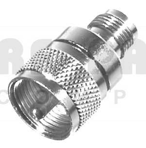 RFT1236 Between Series Adapter, TNC Female to UHF Male(PL259), RFI