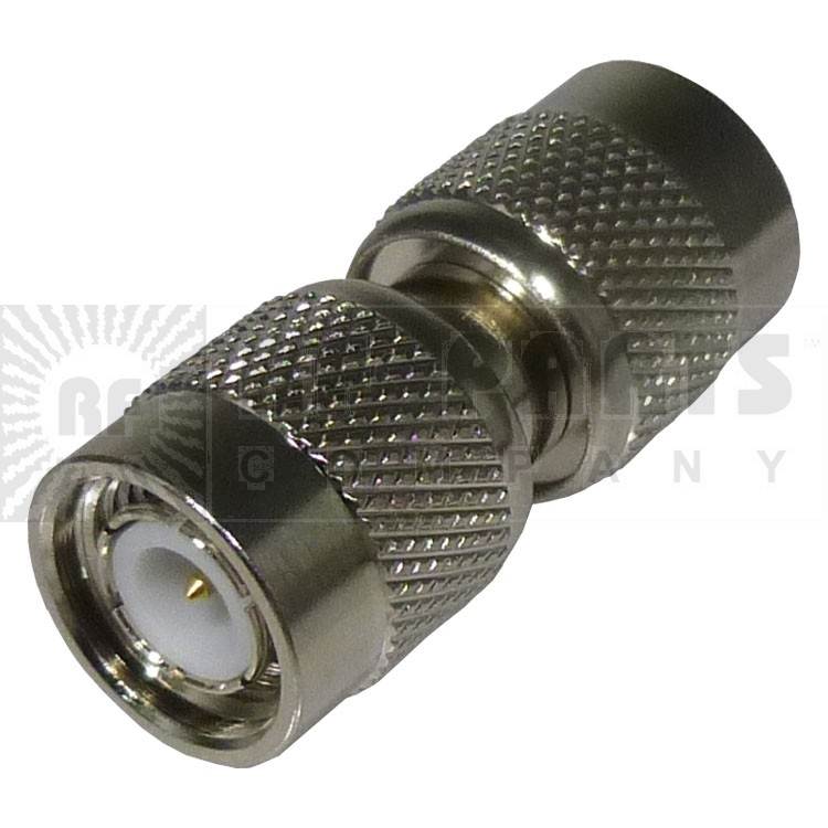 RFT1224  IN Series Adapter, TNC Male to Male Barrel, RF Industries