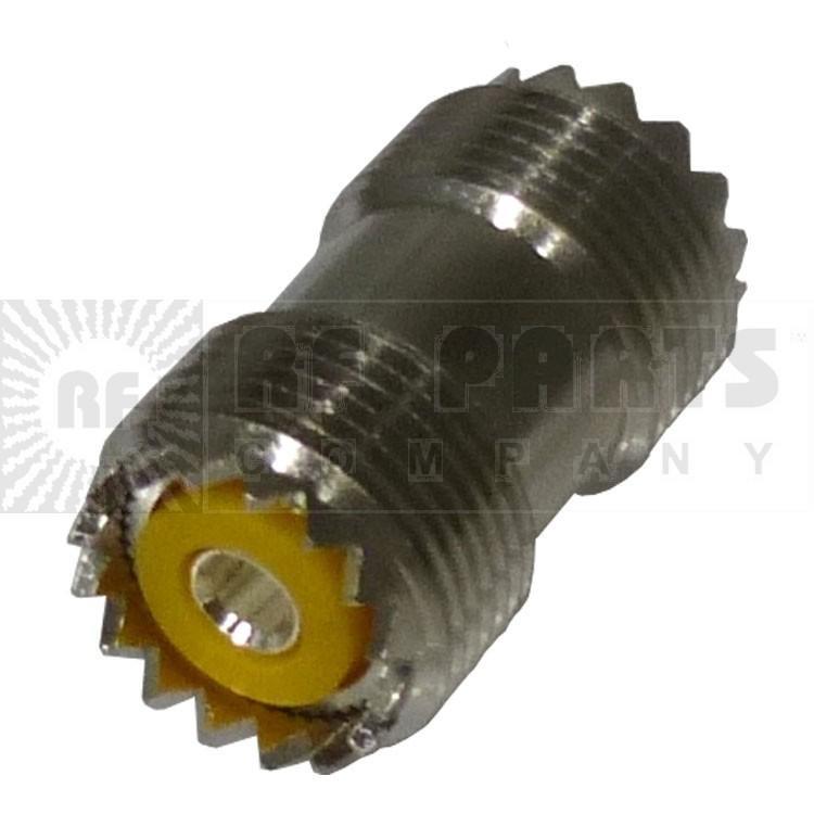 RFU536  IN Series Adapter, Female to Female Barrel (SO239), RFI