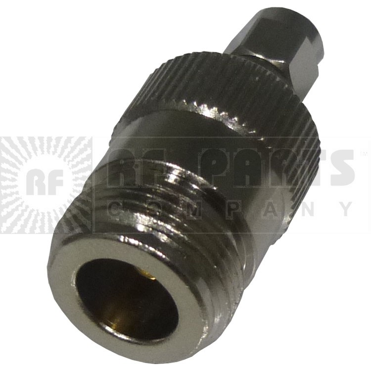 RP3452 Reverse Polarity Between Series Adapter, RP SMA Male to Type-N Female, RFI