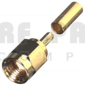 RSA3000-1B SMA Male Crimp Connector, RFI