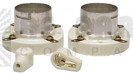 SK211 Tube socket, jumbo 4 pin, Twistlock 211, 805, 810, 845