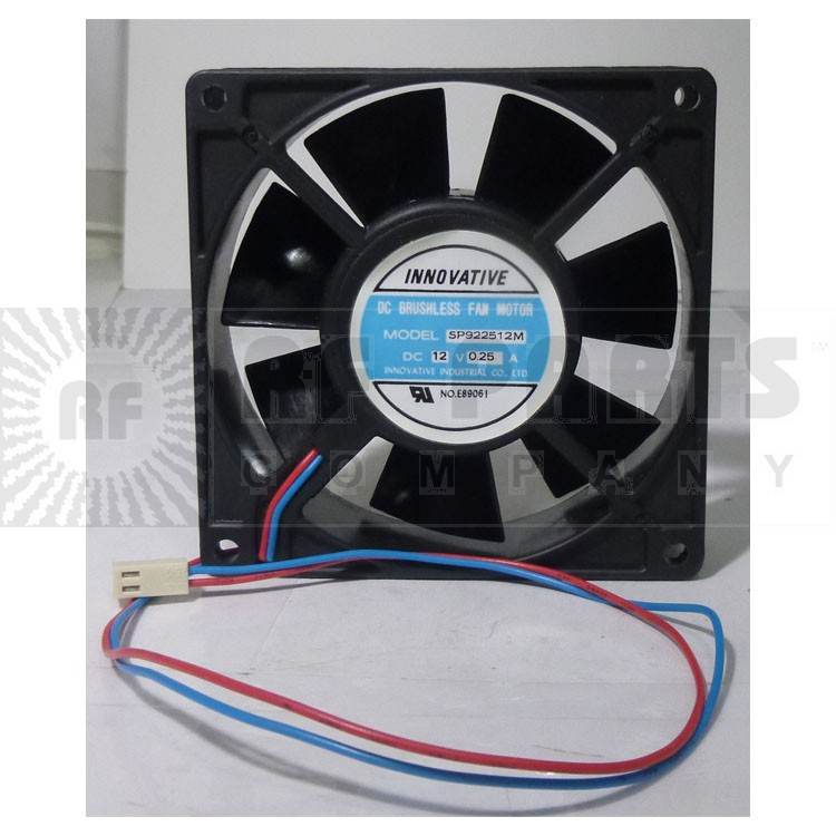 SP922512M Dc cooling fan 12vdc .25a