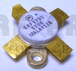 SRF3795MQ  Transistor, Matched Quad, 12 volt, Premium grade replacement for MRF454, Motorola