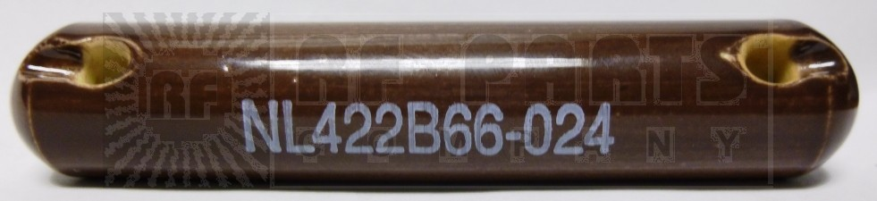 "STRAIN-4  Ceramic Insulator, 4"" Long, 5970-00-405-8971, NL422B66-024 5970004058971"