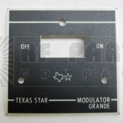 TEXFACE-GRANDE Replacement FacePlate for Modulator Grande