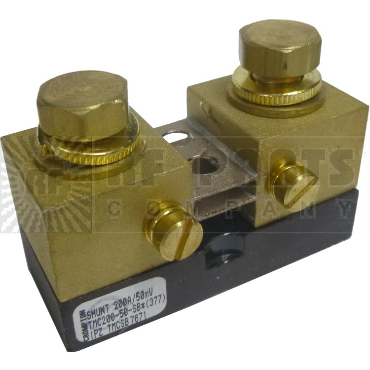 TMS200-50  Shunt, meter, 200 a, 50 mv