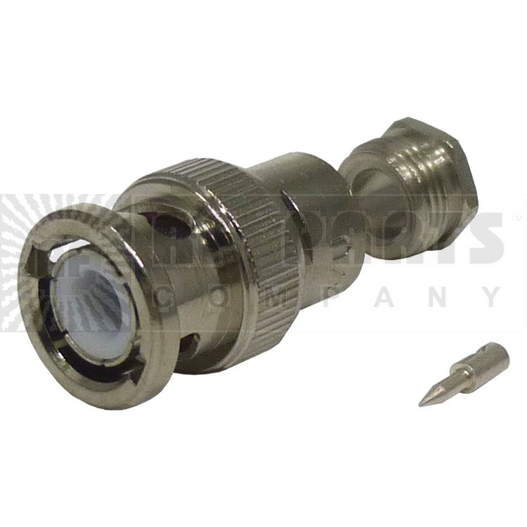 UG88/U BNC Male Clamp Connector, Cable Group C, Amphenol (031-2)