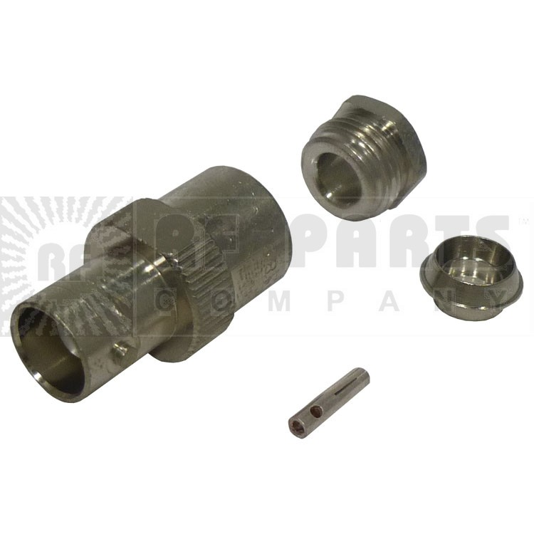 UG89D/U  BNC Female Bulkhead Clamp Connector,RG58, Kings