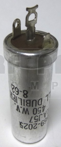 UP1AJ57 Capacitor 10 uf 450v can, CDE