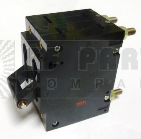 W92X11-2-10 Circuit Breaker, 10a, 250vac, 2 Pole, P & B