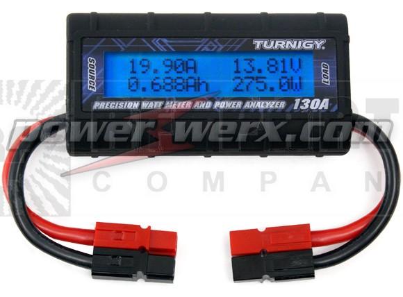 WATTMETER-PP  -  DC Inline Watt Meter and Power Analyzer, Powerpole Ends