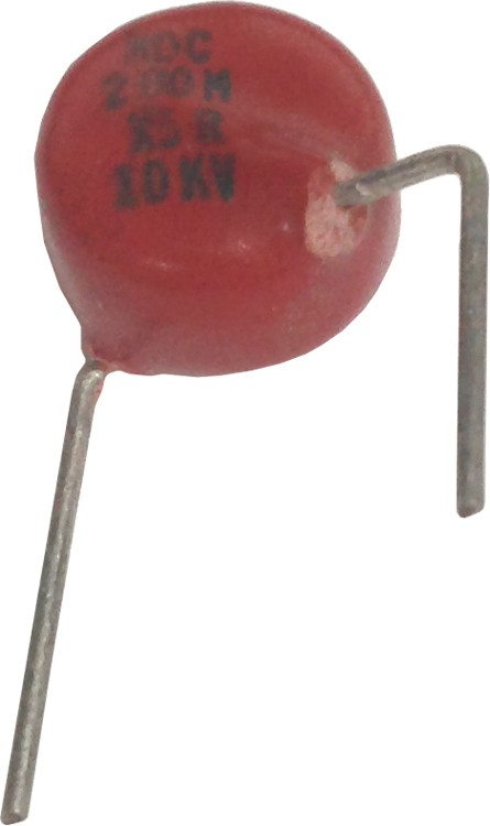 0002-10KVHDB - High Voltage Capacitor 10KV