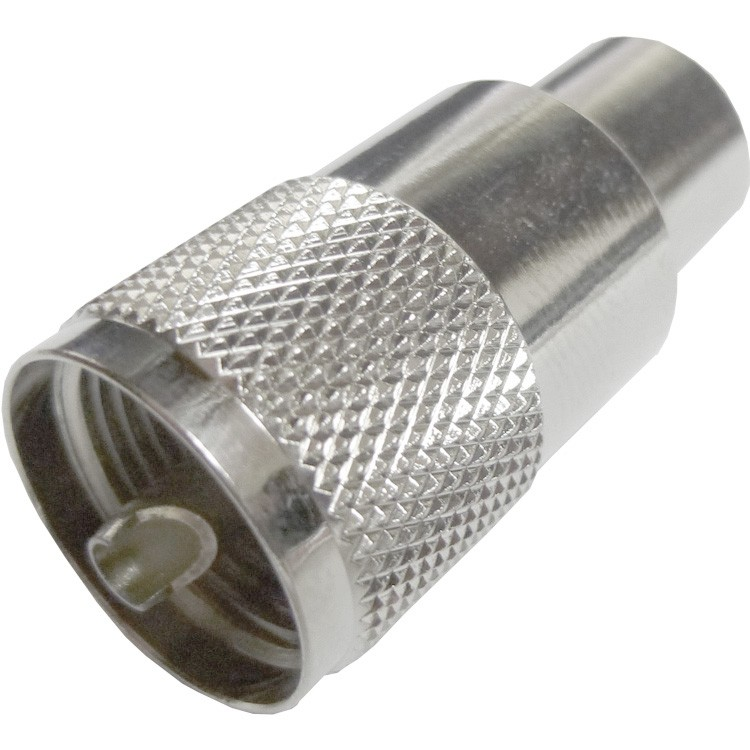 182120 - UHF Male (PL-259) Solder Type Connector