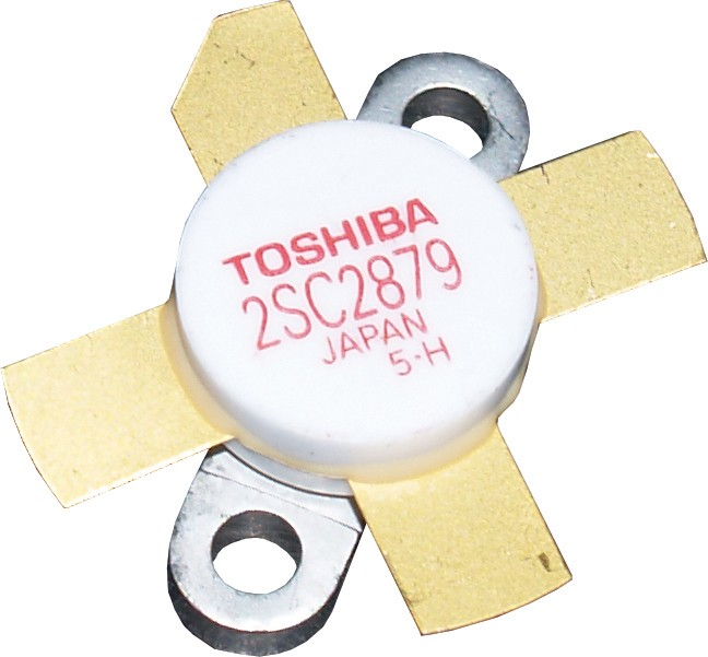 2SC2879MQ - Matched Set of 4 Toshiba Transistors