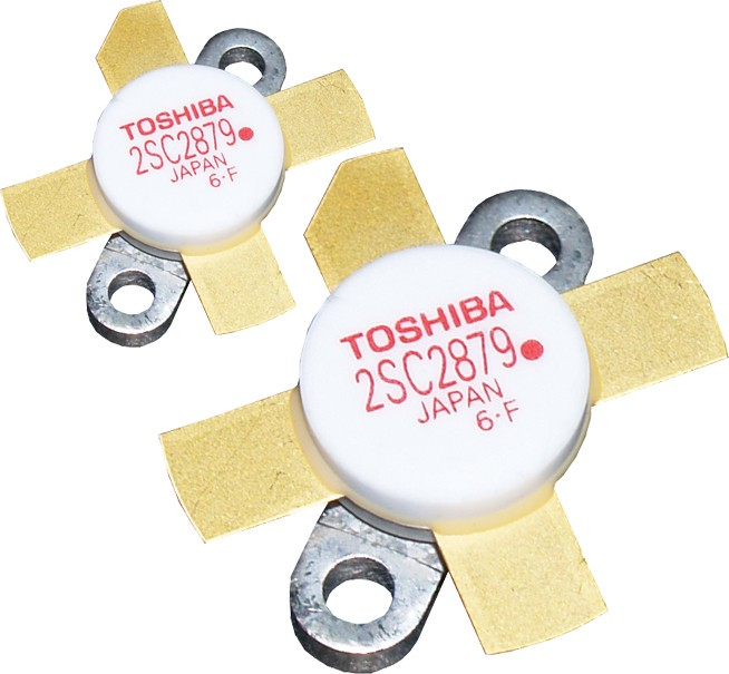 "2SC2879AMP - Matched Pair of ""Red Dot"" RoHS compliant Toshiba Transistors"