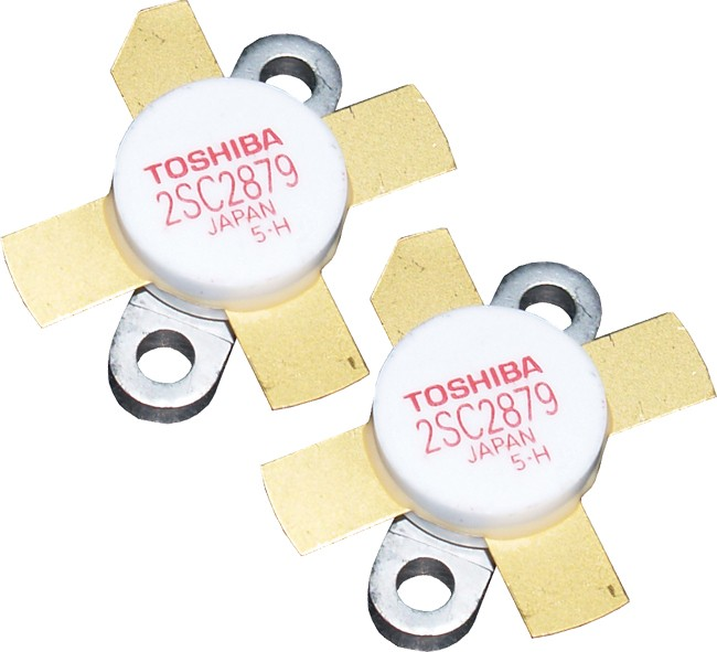 2SC2879MP - Matched Pair of Toshiba Transistors