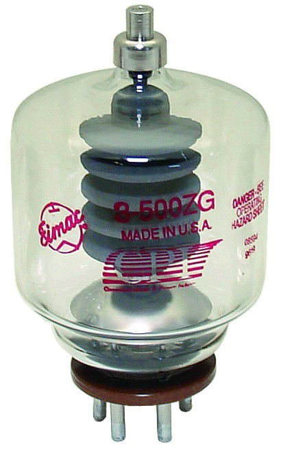 3-500ZG-EI Transmitting Tube, Eimac (NOS)