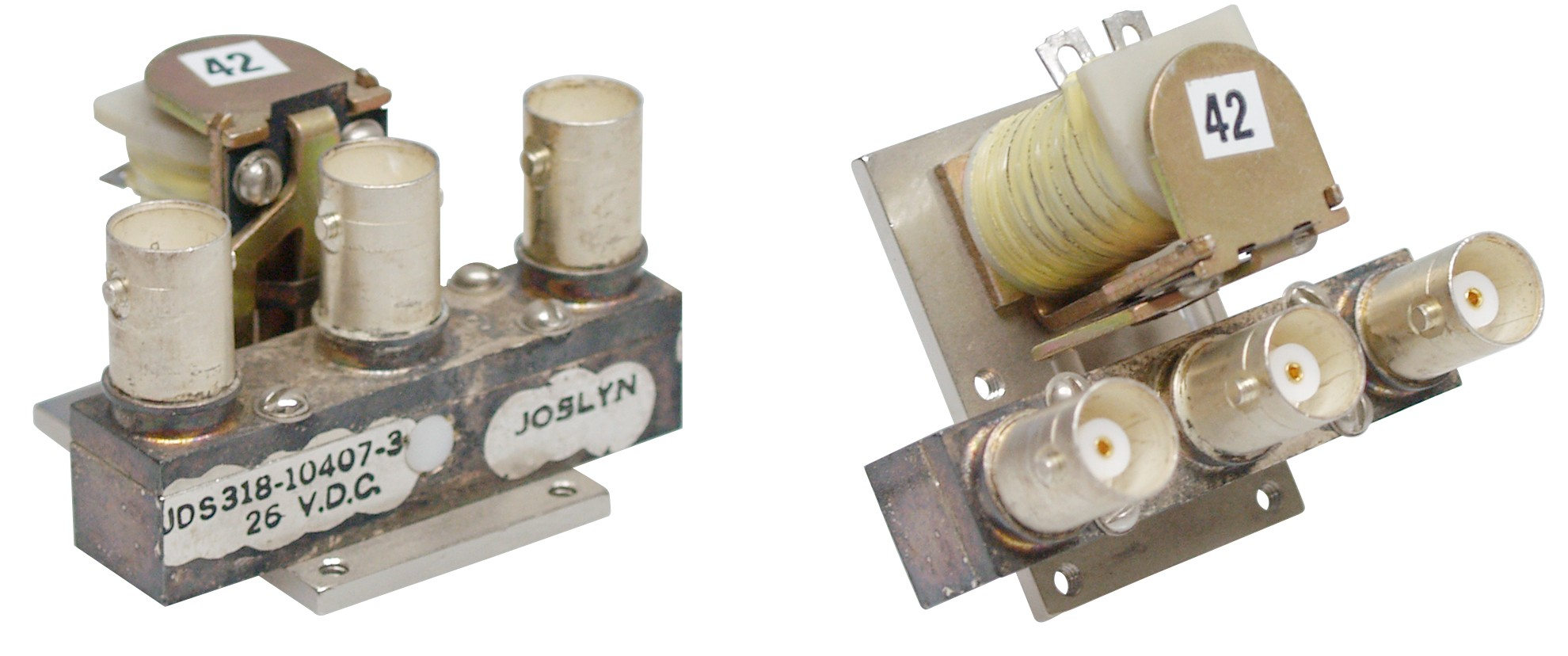 318-010407-3 Coaxial relay,26vdc spdt joslyn