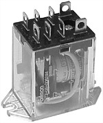 LY2-UA-006244; Relay, dpdt 120 vac.