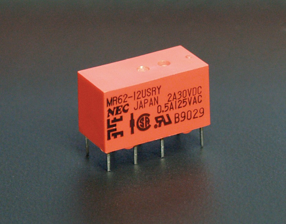 MR62-12USRY Relay dpdt 12vdc sealed
