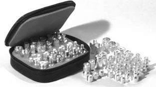 RFA4024 Unidapt Adapter Kit, 30 piece, Silver Plated