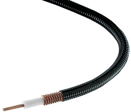 "FSJ4RK-50B 1/2"" Superflex, Fire Retardant Heliax Coax Cable"