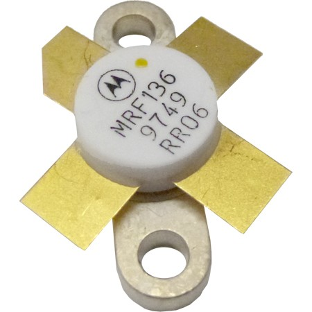MRF136-MOT Transistor, Motorola, 15 watt, 28v, 400 MHz